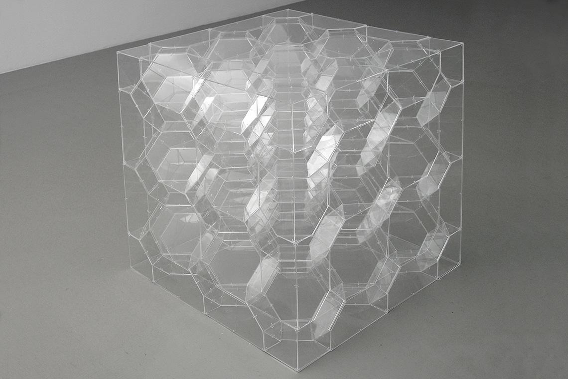 Boxed-in Infinite Polyhedron